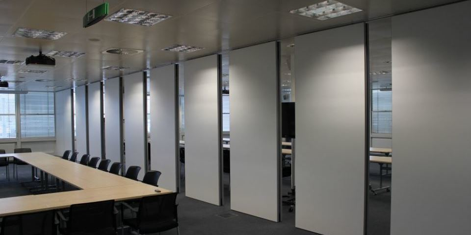 Folding Partition Service Maintenance
