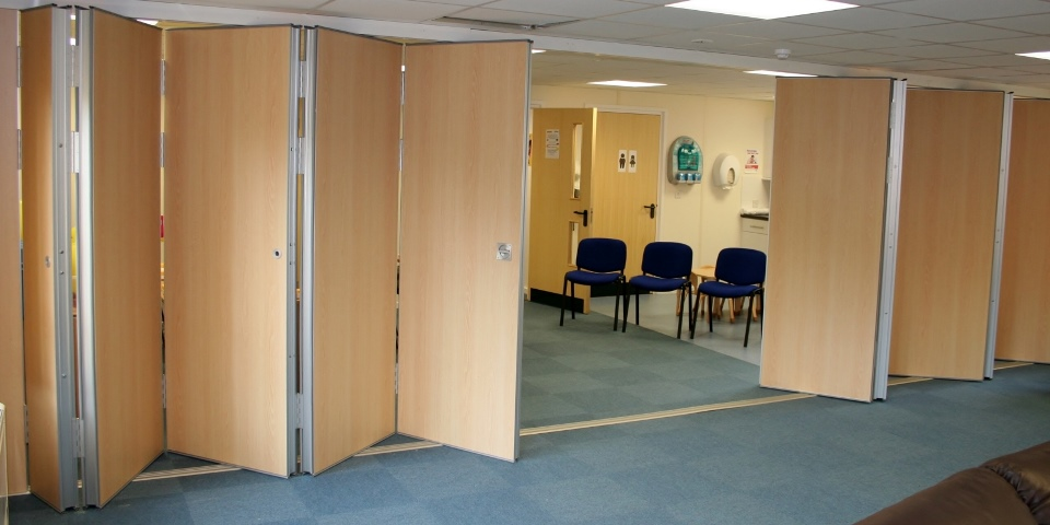 Hinged Folding Partition